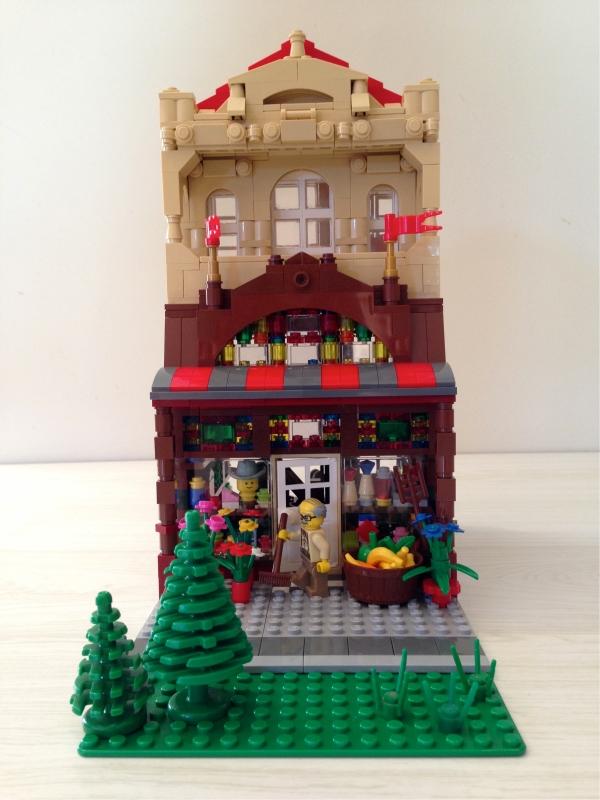 Julia's Lego general store