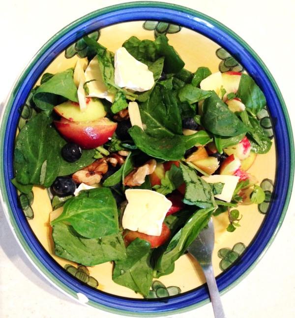 nectarine salad